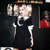 Dress Autumn 2020 black XS,S,M,L,XL