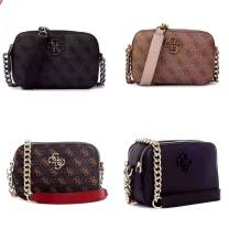 Bag The single shoulder bag PU Small square bag Other / other brand new European and American fashion in leisure time soft zipper no Solid color Single root One shoulder cross carry Yes youth Horizontal square polyester fiber inside pocket with a zipper Artificial leather