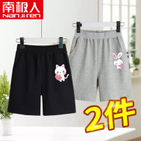 trousers NGGGN female 110cm 120cm 130cm 140cm 150cm 160cm 165cm summer shorts leisure time Sports pants Cotton 100% NJRXPTJW30 Class B TJW30 Spring 2021 3 years old, 4 years old, 5 years old, 6 years old, 7 years old, 8 years old, 9 years old, 10 years old, 11 years old, 13 years old, 14 years old