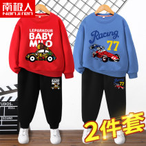 suit NGGGN 110cm 120cm 130cm 140cm 150cm 160cm 165cm male spring and autumn motion Long sleeve + pants 2 pieces routine There are models in the real shooting Socket nothing Cartoon animation cotton NJRXP02782 Class B Cotton 83% polyester 17% Spring 2021 Chinese Mainland