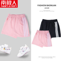 trousers NGGGN female 110cm 120cm 130cm 140cm 150cm 160cm 165cm shorts Sports pants Cotton 100% Spring 2021 4 years old, 5 years old, 6 years old, 7 years old, 8 years old, 9 years old, 10 years old, 11 years old, 12 years old, 13 years old, 14 years old