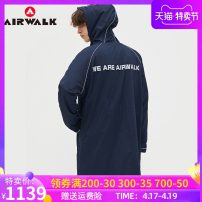 Jacket Airwalk / grip Fashion City S M L XL 2XL XS routine standard Other leisure winter Cotton 50% polyamide fiber (nylon) 50% Long sleeves Wear out Hood American leisure youth Medium length Zipper placket Closing sleeve Solid color Winter of 2019 More than two bags) nylon