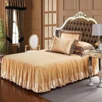 Bed skirt 4-piece 1.5m bed skirt, 4-piece 1.8m bed skirt, 4-piece 2.0m bed skirt, 3-piece 1.2m sheet, 4-piece 1.5-1.8m sheet and 4-piece 2.0m sheet cotton Other / other Plants and flowers Qualified products
