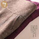 Gift bag / plastic bag Purple, camel