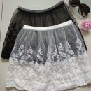 skirt Autumn 2020 One size 80-130kg K64 - white fireworks waist skirt 34-5x5, T32 - Black fireworks waist skirt 34-dm8, u73 - white Lanling waist skirt 34-876, S36 - Black Lanling waist skirt 34-m0e Short skirt Sweet High waist A-line skirt Cartoon animation Type A 25-29 years old N75754 cotton