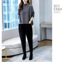 T-shirt Grey Top + black pants, blue top + black pants, black top + black pants M suggests 90-105 kg, l 105-120 kg, 2XL 135-150 kg, XL 120-135 kg, 3XL 150-170 kg easy other 96% and above