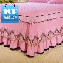 Bed skirt 1.2 * 2m bed skirt, 1.5 * 2m bed skirt, 1.8 * 2m bed skirt, 1.8 * 2.2m bed skirt, 2 * 2.2m bed skirt, 2 1.5 * 2m bed skirt + pillow case, 2 1.8 * 2m bed skirt + pillow case, 2 1.8 * 2m bed skirt + pillow case, 2 2 2 * 2m bed skirt + pillow case cotton Other / other Solid color