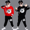 suit 110cm 120cm 130cm 140cm 150cm 160cm 170cm male spring and autumn motion Long sleeve + pants 2 pieces routine There are models in the real shooting Socket nothing Solid color children Expression of love Class B Summer 2020 Chinese Mainland Guangdong Province Guangzhou City