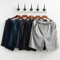Pajamas / housewear Other / other Light grey - 308, black - 980, Sapphire - 65E, dark grey - 506, denim - ae8 male Pant Thin money Leisure home Simplicity Solid color summer rubber string middle-waisted youth cotton 41% (inclusive) - 60% (inclusive) ut-963 modal  220g