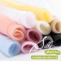 Fabric / fabric / handmade DIY fabric Netting Loose shear rice Solid color printing and dyeing Other hand-made DIY fabrics Japan and South Korea Hall 3 TJ0031 Guangdong Province Guangzhou City Chinese Mainland