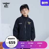 Jacket / leather BOY LONDON neutral black 110cm 120cm 130cm 140cm 150cm 160cm other spring and autumn There are models in the real shooting J2113KN7030 Polyamide fiber (nylon) 100% Spring 2021