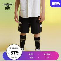 trousers BOY LONDON neutral 110cm 120cm 130cm 140cm 150cm 160cm black summer shorts There are models in the real shooting Sports pants Polyamide fiber (nylon) 91% polyurethane elastic fiber (spandex) 9% J2121KE8089