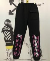 Casual pants Fashion City black S,M,L,XS routine trousers Other leisure easy winter youth tide 2020 Little feet Sports pants printing No iron treatment cotton cotton More than 95%