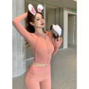 Fashion suit Spring 2021 S,M,L Pink one, gray one, black one 18-25 years old Other / other