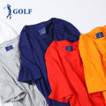 T-shirt Youth fashion Black, white, light blue, yellow, green routine S,M,L,XL,2XL Golf / Golf Short sleeve Crew neck easy daily summer C2802001-2 Cotton 100% youth routine Youthful vigor 2019 Solid color cotton International brands More than 95%