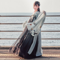 National costume / stage costume Autumn of 2019 Big sleeve shirt in stock XS S M L XL SHF151063 More than thirteen Polyester 100%