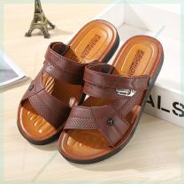 Sandals Milky white, dark gray, 008 black - fxi-fs, 005 black - rjus-sik, 007 Brown - xge-xda, 688 black - zqy-hnp, 005 Brown - wqdh-dc, 008 Brown - yz-uoyn, 688 Brown - vmv-ppq, 007 Brown - zay-th Other / other Sleeve plastic cement Beach shoes summer daily leisure time Barefoot PVC ventilation