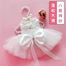 Pet clothing / raincoat currency Wedding dress Other / other princess