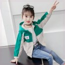 Plain coat Other / other female spring and autumn Korean version There are models in the real shooting No detachable cap Cartoon animation other Crew neck
