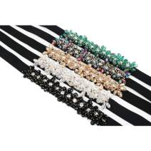 Belt / belt / chain Double skin leather Five colors of black crystal, five colors of white crystal, five colors of champagne crystal, five colors of dazzling crystal, five colors of green crystal, five colors of gray crystal female belt Versatile Single loop Youth, youth, middle age Diamond inlay