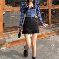 suit other Collection and purchase priority delivery, plaid shirt, skirt M, S