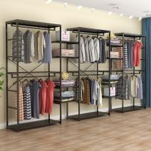 Clothing display rack iron Official standard