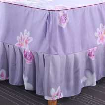 Bed skirt polyester fiber Other / other Plants and flowers Qualified products