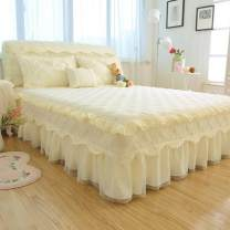 Bed skirt Others Love - Beige, love - sky blue, love - pink, love - rose red, love - jade, love - purple, love - Scarlet&$ Other / other Solid color Qualified products