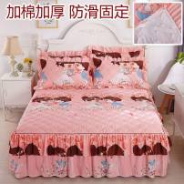 Bed skirt 180 * 220cm single bed skirt, 200 * 220cm single bed skirt, 150 * 200cm single bed skirt, 180 * 200cm single bed skirt, a pair of pillowcases, 120 * 200cm single bed skirt Others Other / other Plants and flowers Qualified products