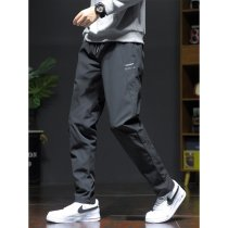 Down pants Other / other Htlb-6653 black, htlb-6654 black, htlb-6655 black, htlb-6656 black, htlb-6657 black, htlb-6658 black, htlb-6659 black M,L,XL,2XL,3XL,4XL,5XL Youth fashion trousers Wear out More than 90% white duck down leisure time youth HTLB-6653 tide