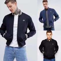 Sports jacket / jacket FRED PERRY male S / 36 100 / 115 kg, M / 38 120-130 kg, L / 40-140 / 155 kg, XL / 42-160-175 kg, XXL / 44-175-200 kg, 46 / XXL above 200 kg C5520 Blue, black, dark blue, black white, black new Autumn of 2018
