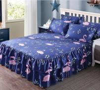 Bed skirt 150cmx200cm for 2 pillow cases, 180cmx200cm for 2 pillow cases, 120cmx200cm for 2 pillow cases, 180cmx220cm for 2 pillow cases, 200cmx220cm for 2 pillow cases cotton Other / other Plants and flowers Qualified products