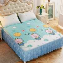 Bed skirt 150cmx200cm,180cmx200cm,120cmx200cm,200cmx220cm Others Koala, outing, pineapple, fiery feather, Firebird, banana leaf, whale, blue mood, shade, white bear, cute elephant, fun spirit Other / other Plants and flowers Qualified products