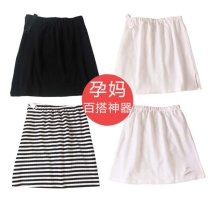 skirt Multi style skirt M,L,XL,XXL spring and autumn Other / other N89 - black side split, T40 - white hole, A75 - black and white stripe, U89 - white side split T79240