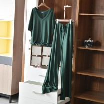 Fashion suit Summer 2021 M [80-105 Jin], l [105-125 Jin], XL [125-145 Jin], 2XL [145-165 Jin] Green, gray, black 18-25 years old Other / other 91% (inclusive) - 95% (inclusive) cotton