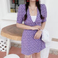 Dress Summer 2020 French Floral Dress S,M,L