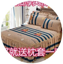 Bed skirt One pillow case for bed skirt 120x200, one pair for bed skirt 150x200, one pair for bed skirt 180x200, one pair for bed skirt 180x220 and one pair for bed skirt 200x220 cotton Other / other Plants and flowers 85TpO8dt