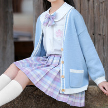 suit Other / other 130cm,120cm,150cm,140cm,170cm,160cm female spring and autumn college Long sleeve + skirt 4 pieces or more routine There are models in the real shooting Single breasted nothing other other children Giving presents at school 4022IK-3 Class B Other 100% Chinese Mainland