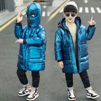 Cotton padded jacket male No detachable cap other Ybve / baby Blue black 110cm 120cm 130cm 140cm 150cm 160cm thickening Zipper shirt motion There are models in the real shooting other other Class C other Other 100% Glasses cotton padded clothes 2020 Winter 2020 winter Chinese Mainland