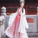 Hanfu 91% (inclusive) - 95% (inclusive) Summer 2020 (4.5m 4-piece set) Yituan [in stock] S M L polyester fiber