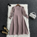 Dress Spring 2020 Black, apricot, pink S,M,L,XL T020-8111 31% (inclusive) - 50% (inclusive) other