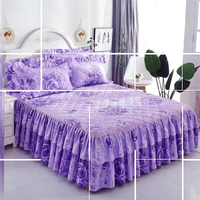 Bed skirt 100cmx200cm,120cmx200cm,135cmx200cm,150cmx200cm,180cmx200cm,200cmx200cm,120cmx230cm,160cmx230cm,180cmx230cm,200cmx220cm Others Other / other Plants and flowers Qualified products