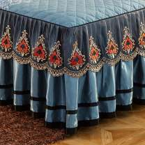Bed skirt Others Red rose, huaxigu, blue butterfly, Ye Yu, Aibao, aisali, Fanhua's love blue, oulisi pink, oulisi blue, oulisi Pinyin, voice of summer Other / other Plants and flowers Qualified products m2BHD58d