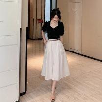 Fashion suit Li Tu LITU-A472-7593 96% and above polyester fiber Summer 2021 Polyester 100% Two piece set S M L XL