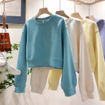Sweater / sweater Winter 2016 Lake blue, light purple, light yellow, beige Average size 80-120 Jin! have cash less than that is registered in the accounts 71% (inclusive) - 80% (inclusive) cotton cotton Cotton liner