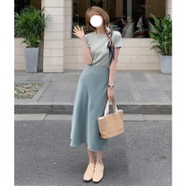 Fashion suit Spring 2021 S M L XL Top Skirt Top + skirt Jade Princess Q8666Uh3p Other 100% Pure e-commerce (online only)