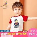 T-shirt CLASSIC TEDDY MINI 80cm 90cm 100cm 110cm 120cm 130cm 140cm neutral summer Short sleeve Crew neck leisure time There are models in the real shooting nothing cotton Cartoon animation Cotton 100% T-WT20046-1-2 Class A other Spring 2020 Chinese Mainland