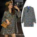 Women's large Spring 2021 Picture color M L XL 2XL 3XL 4XL singleton  commute easy moderate Long sleeves Medium length ;jdn Hinaya Other 100% Pure e-commerce (online only)