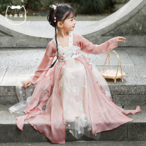 Tang costume Purple Pink 90 100 110 120 130 140 Polyester 100% female All seasons There are models in the real shooting Thin money Kaba cat Plants and flowers KBM21013 18 months, 2 years old, 3 years old, 4 years old, 5 years old, 6 years old, 7 years old, 8 years old, 9 years old, 10 years old