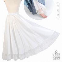 Hanfu 71% (inclusive) - 80% (inclusive) Summer of 2019 white XS,S,M,L polyester fiber